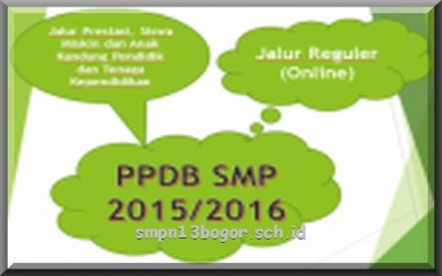 Info PPDB SMP 2015